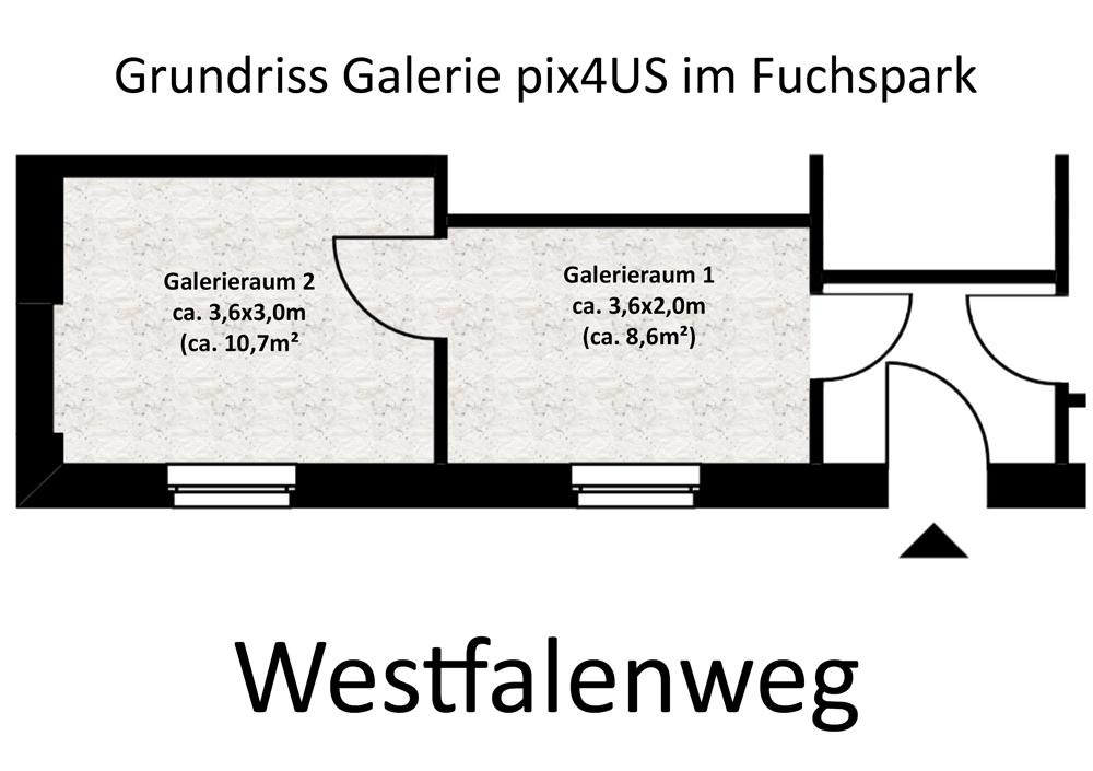 Grundriss Galerie pix4US